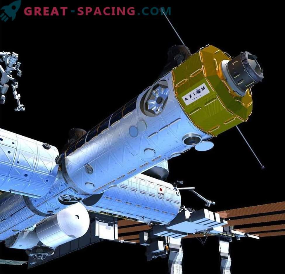 Eine private Raumstation kann Teile der ISS wiederverwenden.