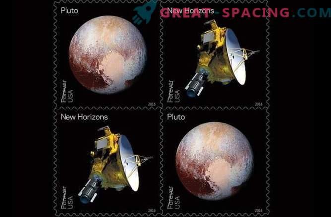 Pluto hat neue Briefmarken erhalten