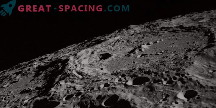 Das Modell des frühen Mondes zeigt die Atmosphäre eines Schwermetalls.