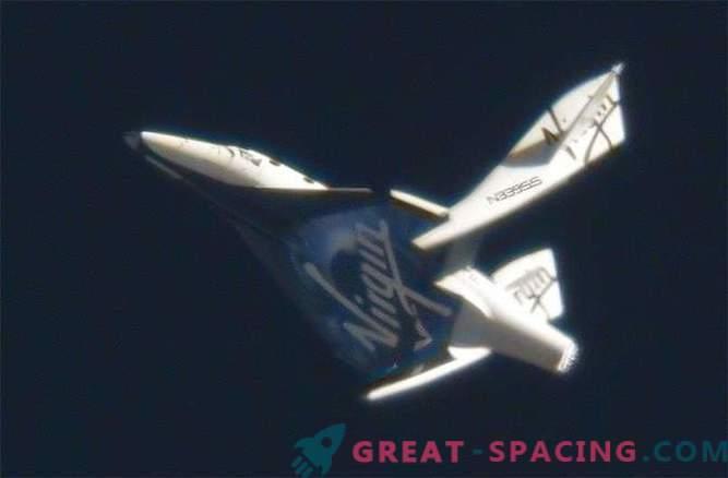 SpaceShipTwo-Raketentriebwerk war nicht die Ursache des Absturzes