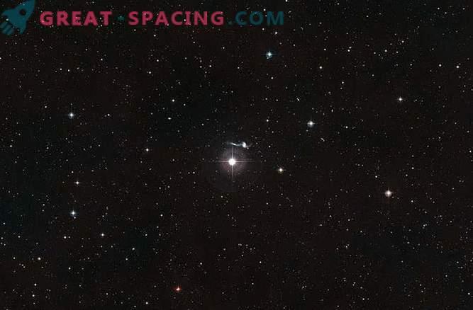 Hubble entdeckte eine Galaxie von verstreuten Sternen weit weg von zu Hause.