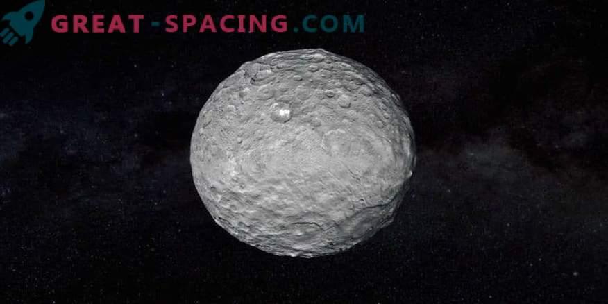 Mögliche uralte ozeanische Spuren auf Ceres
