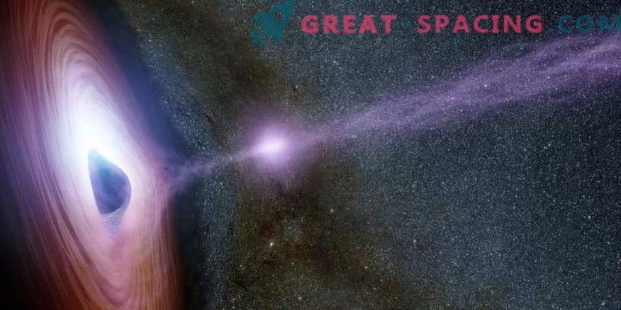 Lichtsignale begleiten supermassive Kollisionen mit Schwarzen Löchern