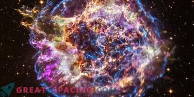 Virtuelle Tour durch den explodierenden Stern