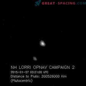 Plutos winzige Satelliten wurden von der NASA-Raumsonde eingefangen.