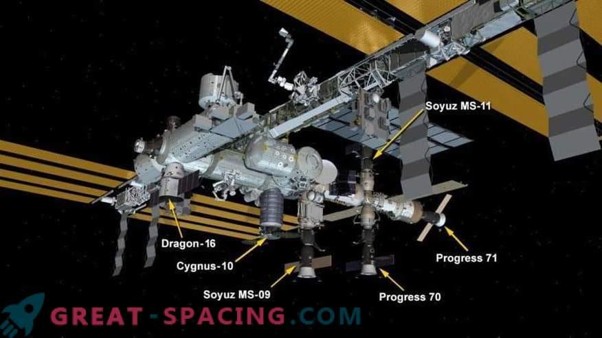 SpaceXs Drachenkapsel liefert Weihnachtsleckerbissen an die ISS