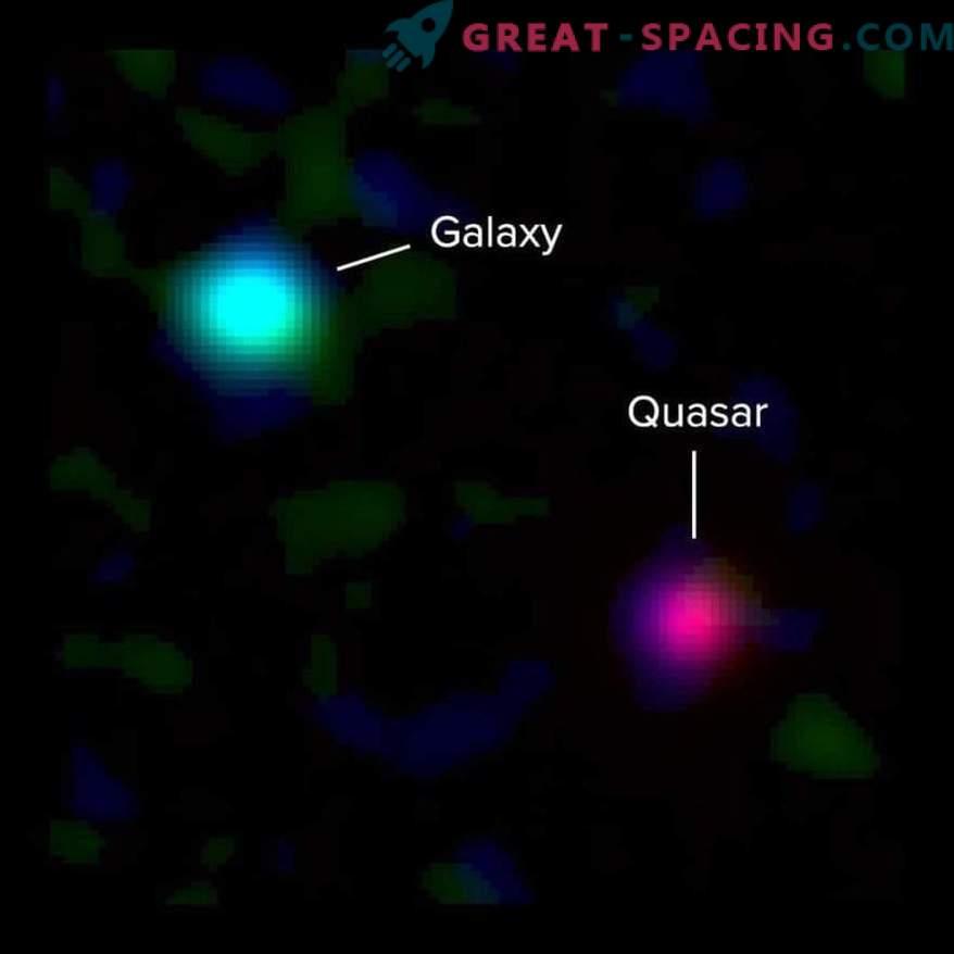 Reisen Sie in die Vergangenheit, um die Form antiker Galaxien zu betrachten.