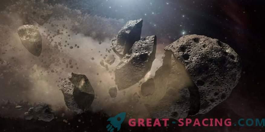 Encontró la familia de asteroides más antigua