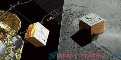 MASCOT japanisches Fahrwerk berührte Ryugu Asteroidenoberfläche