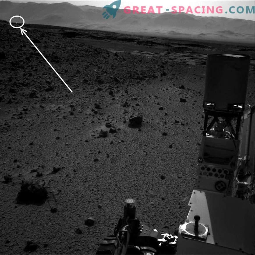 Warum der Mars leuchtet. Geheimnisvolles Phänomen der Fackeln auf dem Roten Planeten