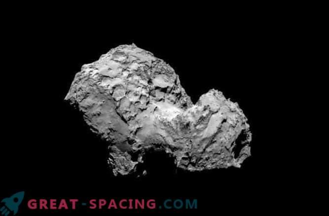 Die Bausteine des Lebens befinden sich auf dem Kometen Rosetta