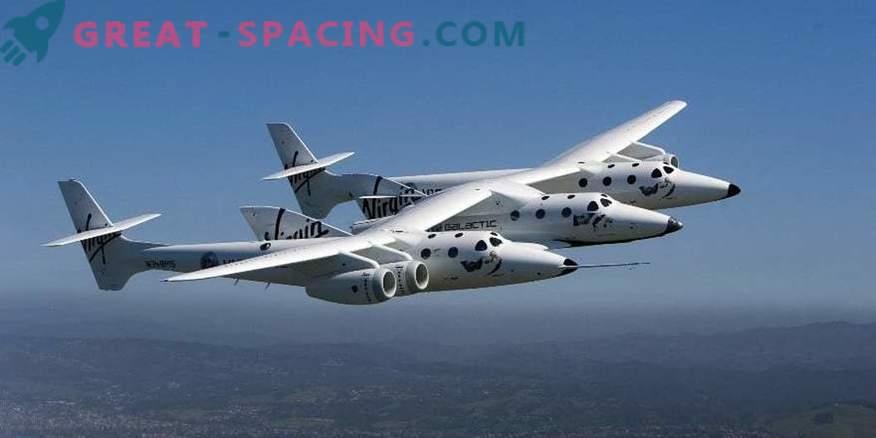 Zweiter Testflug für die Virgin Galactic