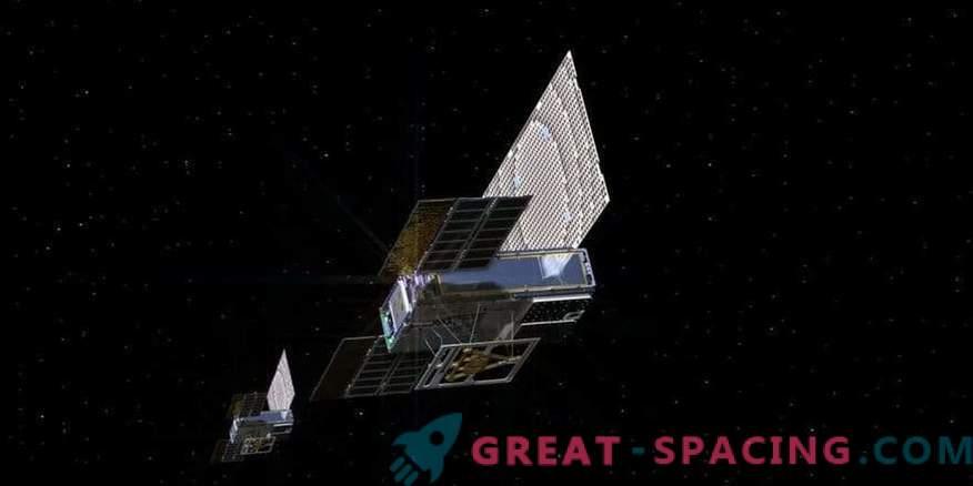 Winzige Satelliten setzen ihre Reise zum Mars fort!