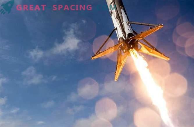 Für SpaceX ist die nächste Landung im Ozean möglich