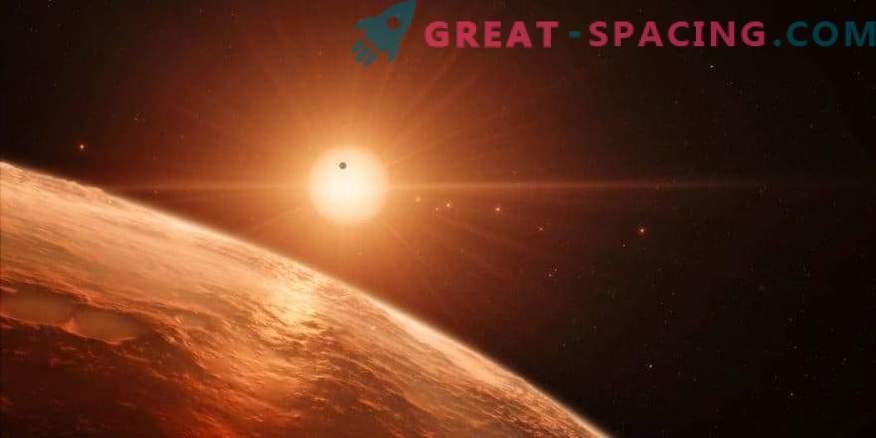 Lebenswahrscheinlichkeit in TRAPPIST-1