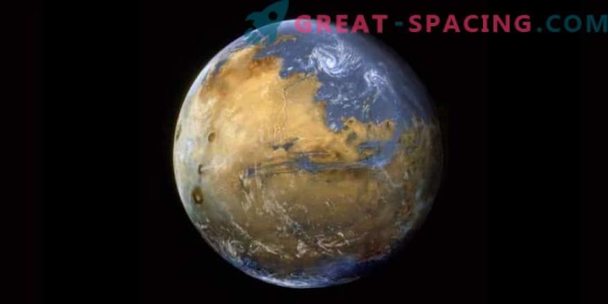 Warum Wasser auf dem Mars verschwand