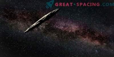 Der mysteriöse interstellare Gast Oumuamua ein Jahr später