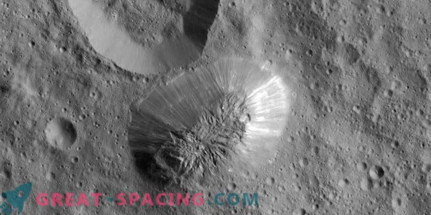Neugieriges Verschwinden von Eisvulkanen auf Ceres