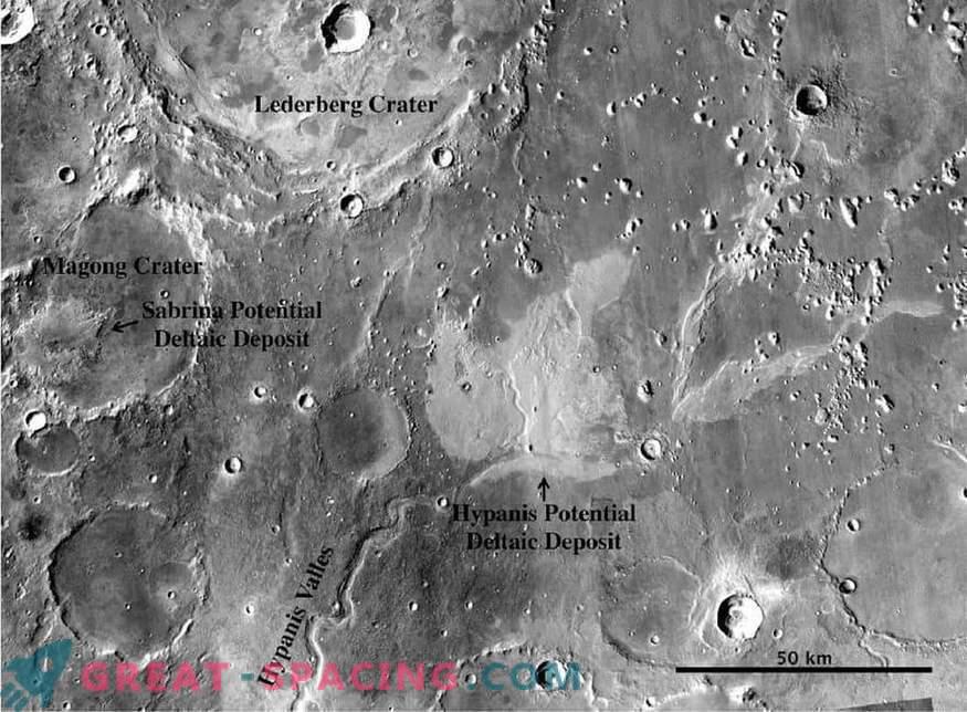 Ein weiteres Argument für eine feuchte Marsvergangenheit! Führen Flusskanäle zum Ozean?