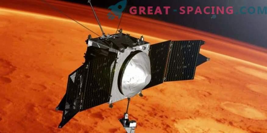 MAVEN feiert 4 Jahre im Marsorbit
