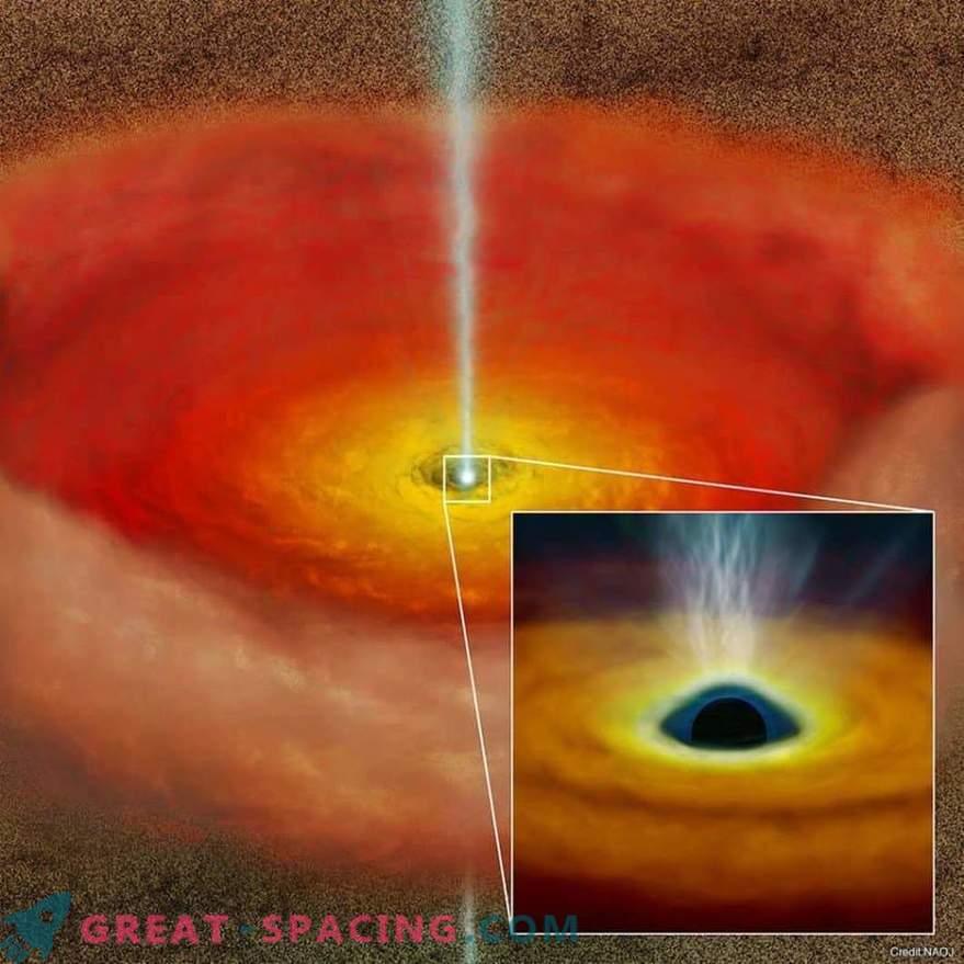 Rotation von Schwarzen Löchern erzeugt Hochgeschwindigkeitsjets?