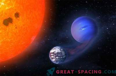 Kann ein Roter Zwerg Mini-Neptun in Exo-Erde verwandeln?