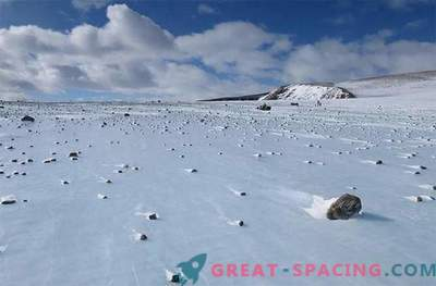 Hunting for extreme meteorites gives space hints: Photos