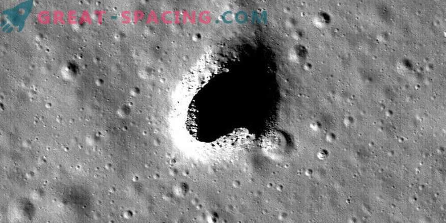 Möglicher Lebensraum auf dem Mond