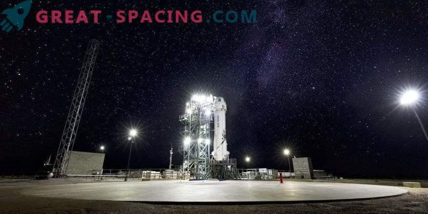 Blue Origin bereitet den 10. Teststart für die New Shepard-Rakete vor.