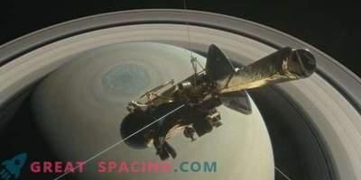 Neues Video vom ersten Cassini-Tauchgang