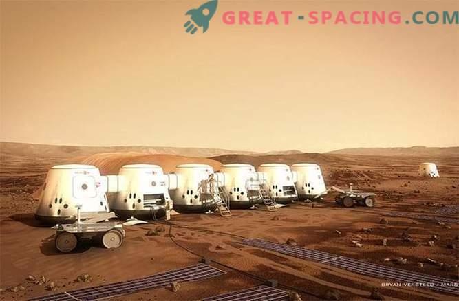 100 Leute sind bereit, auf eine Weise zum Mars zu gehen