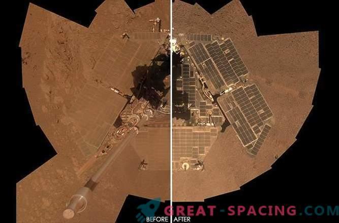 Gelegenheit: ein erstaunlicher selbstreinigender Rover