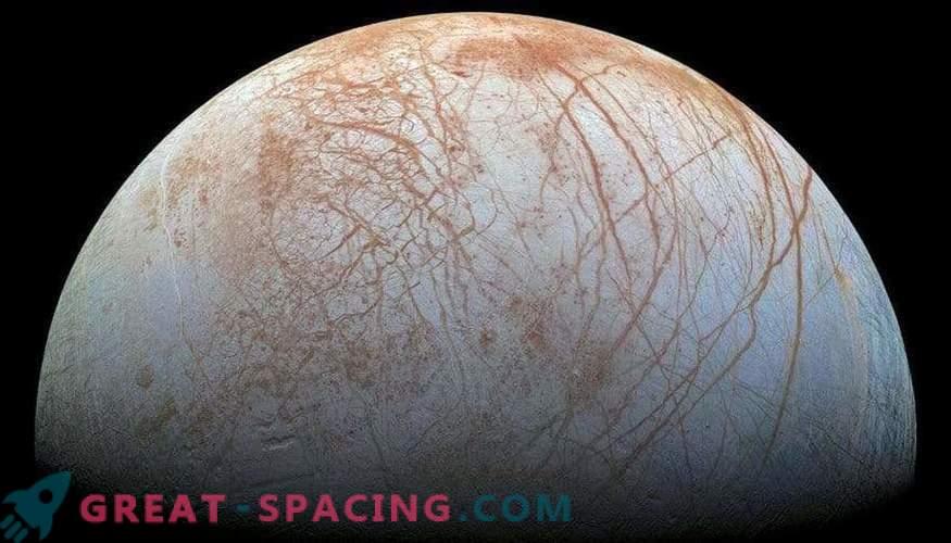 Können sich winzige Biosphären unter den eisigen Mondschichten verstecken?