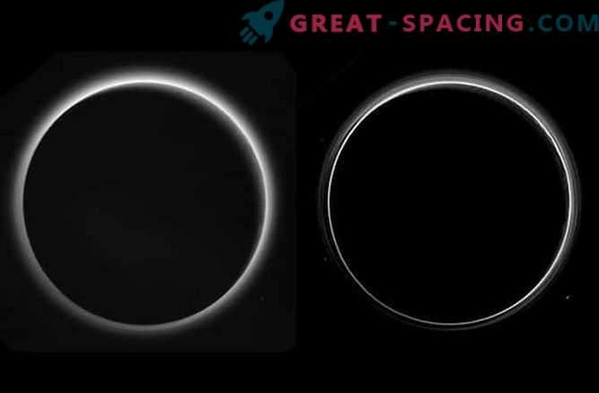 Schöne komplexe Welt von Pluto auf den neuen Fotos