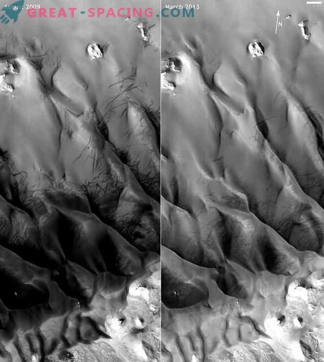 Marsstaubwirbel können mithilfe seismischer Daten nachgewiesen werden.