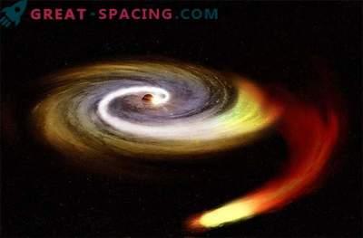 Ist das mysteriöse Objekt mit unserem Schwarzen Loch zusammengestoßen?