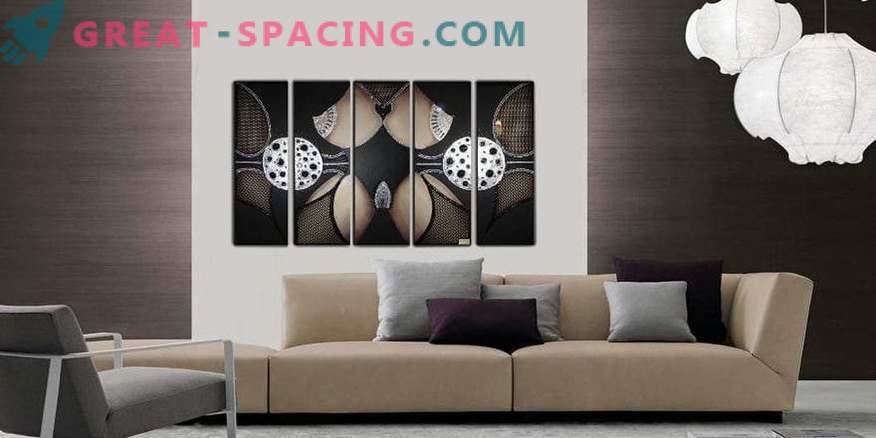 Malen als Teil Ihres Interieurs