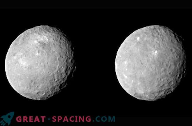 Neue Bilder von der Oberfläche des Zwergplaneten Ceres