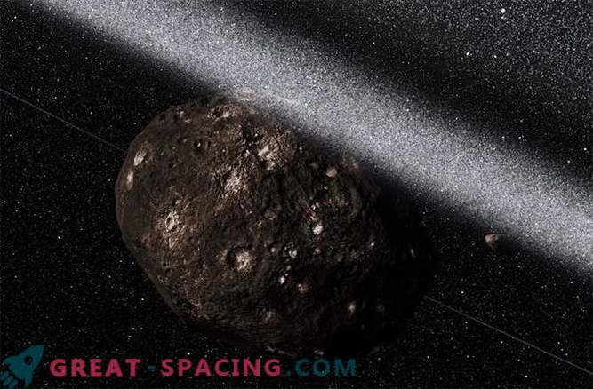 Wie Ringe in einem Asteroiden entdeckt wurden. Foto
