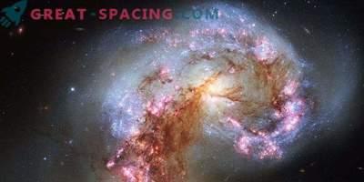 Organisches Material in der Antennengalaxie gefunden
