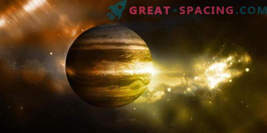 Jupiter ist der älteste Planet in unserem System