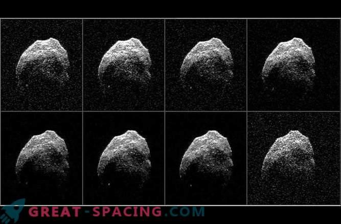 Wissenschaftler haben Radarbilder eines schrecklichen Kometen erhalten