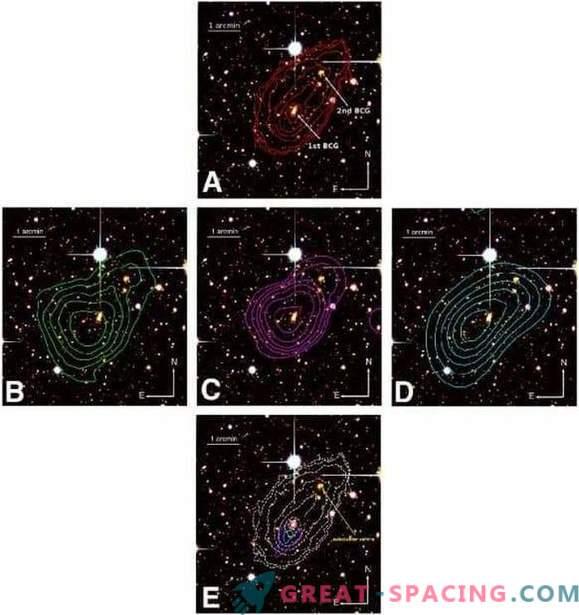 Umfassende Studie zur Fusion des Galaxienhaufens MACS J0417