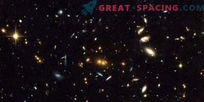 Erstaunliche Kollisionsergebnisse von galaktischen Clustern