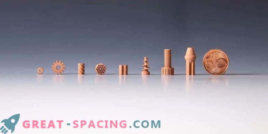 Nützliche Gegenstände aus künstlichem Mondstaub