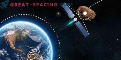 Wie ein Schwerkrafttraktor die Erde vor einer Asteroidenbedrohung rettet
