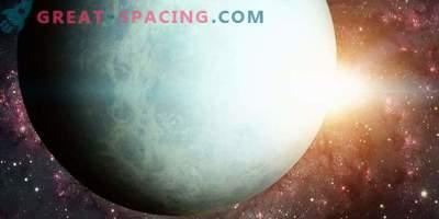 The influence of the Sun on the change of brightness of Uranus