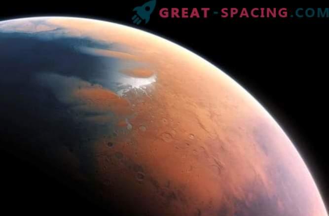 Atomsauerstoff auf dem Mars gefunden