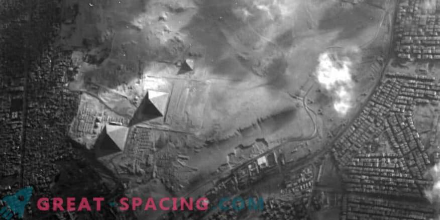 Proba-1-Satellit fängt Pyramiden ein