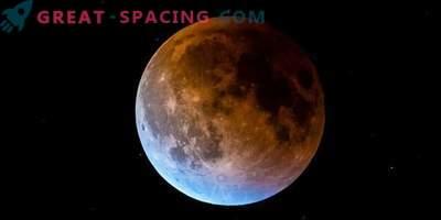 Redka fenomen modre krvave lune